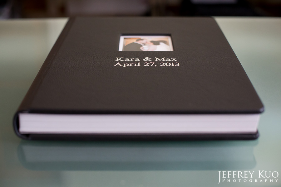 graphistudio 12 16 leather bound wedding album kara and max